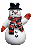 Snowman Ornament with RPI & Rensselaer Scarf