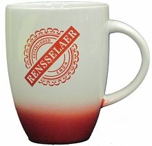 Sunrise Bistro Mug with Rensselaer Est. 1824