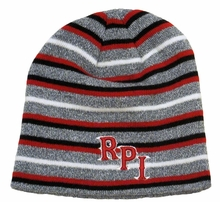 Top of the World Landscape Striped Beanie with RPI
