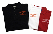 Turfer Men's Cotton Pique Polo with Rensselaer RPI Polytechnic