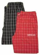 U-Trau Men's Campus Plaid Sleep Pant