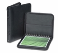 "11""x14"" Premium Leather Photo Portfolio Book / Presentation Case - Black"