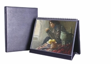 Table Top Presentation Display Easel Binder -  Horizontal Multiring
