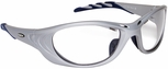 3M Fuel 2 Safety Glasses with Silver Frame and Clear Anti-Fog Lens
