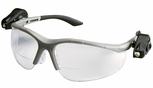 3M Light Vision 2 LED Bifocal Safety Glasses With Clear Anti-Fog Lens