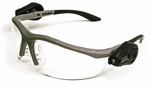 3M Light Vision 2 LED Safety Glasses with Clear Anti-Fog Lens