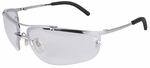 3M Metaliks Safety Glasses with Clear Anti-Fog Lens