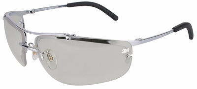 3M Metaliks Safety Glasses with Indoor-Outdoor Lens