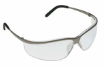 3M Metaliks Sport Safety Glasses with Clear Anti-Fog Lens