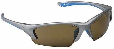3M Nitrous Safety Glasses with Metallic Silver Frame and Bronze Anti-Fog Lens