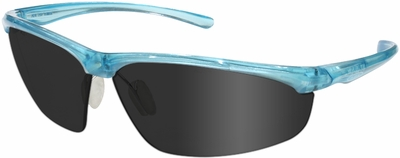 3M Refine 202 Safety Glasses with Teal Frame and Gray Anti-Fog Lens