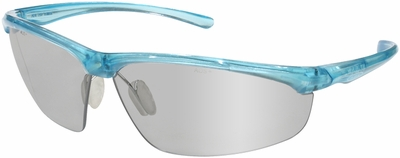 3M Refine 203 Safety Glasses with Teal Frame and Indoor-Outdoor Lens