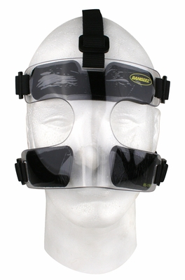 Bangerz Clear Nose Guard with Adjustable Straps