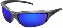 Bangerz HS8700 Sunglasses with Silver Frame and Blue Lenses