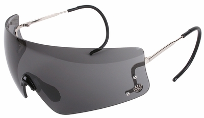 Beretta DSG Shooting Glasses with Cable Temples and Black Lens