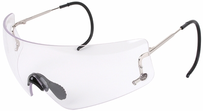 Beretta DSG Shooting Glasses with Cable Temples and Clear Lens