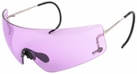 Beretta DSG Shooting Glasses with Cable Temples and Purple Lens
