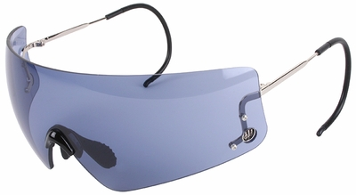 Beretta DSG Small Shooting Glasses with Cable Temples and Smoke Lens