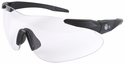 Beretta Shooting Glasses with Black SoftTouch Temples and Clear Lens