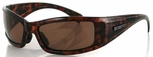 Bobster Defender Sunglasses with Tortoise Frame and Polarized Brown Lens