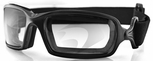 Bobster Fuel Goggles with Black Frame and Anti-Fog Photochromic Lens