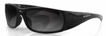 Bobster Gunner Convertible Sunglasses with Black Frame and Photochromic & Clear Lenses