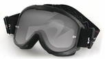 Bobster MX1 Beginner Off-Road Goggles with Black Frame and Tear-Off Clear Lens