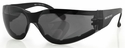 Bobster Shield 3 Motorcycle Sunglasses with Anti-Fog Smoke Lens