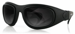 Bobster Sport & Street II Black Frame 3-Lens Motorcycle Sunglasses Kit