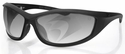 Bobster Zulu Ballistic Sunglasses with Matte Black Frame and Photochromic Anti-Fog Lenses