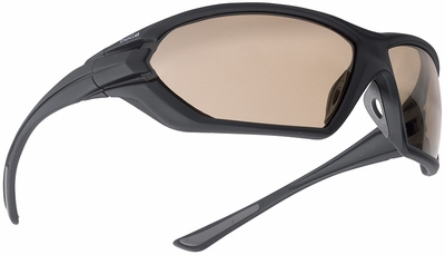 Bolle Assault Tactical Safety Glasses with Matte Black Frame and Twilight Anti-Fog Lens