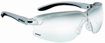 Bolle Axis Safety Glasses with Gray/Black Temples and Contrast Anti-Scratch Lens