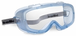 Bolle Coverall Safety Goggle with Translucent Blue Sealed Frame and Clear Anti-Fog Lens