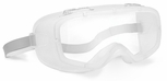 Bolle Coverall Safety Goggle with White Autoclave Frame and Clear Lens