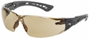 Bolle Rush+ Safety Glasses with Black/Gray Temples and Twilight AF Lens