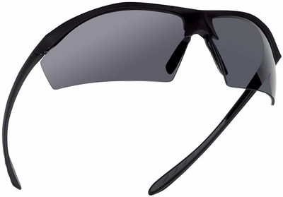 Bolle Sentinel Tactical Safety Glasses with Matte Black Frame and Smoke Anti-Fog Lens