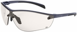 Bolle Silium Plus Safety Glasses with Graphite Colored Frame and CSP AF Lens
