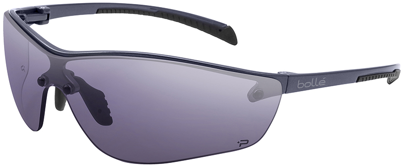 Colored Frame Safety Glasses : Bolle Silium Plus Safety Glasses with Graphite Colored ...