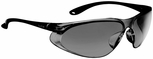 Bolle Spirit Safety Glasses with Matte Black Temples and Smoke Anti-Scratch and Anti-Fog Lens