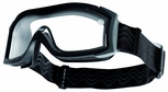 Bolle X1000 Duo Tactical Safety Goggles with Black Frame and Dual Clear Anti-Fog Lenses