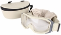 Bolle X1000 Tactical Safety Goggles with Sand Frame and Clear Anti-Fog and Anti-Scratch Lens