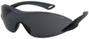 Bouton Airborne Safety Glasses with Black/Gray Temple and Gray Anti-Fog Lens