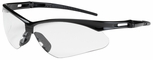 Bouton Anser Safety Glasses with Black Frame and Clear Lens