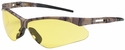 Bouton Anser Safety Glasses with Camouflage Frame and Amber Lens