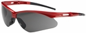 Bouton Anser Safety Glasses with Red Frame and Gray Lens