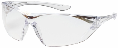 Bouton Bullseye Safety Glasses with Clear Temple and Clear Anti-Fog Lens