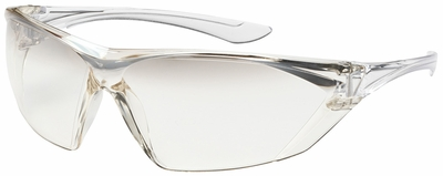Bouton Bullseye Safety Glasses with Clear Temple and Gradient I/O Anti-Fog Lens