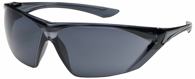 Bouton Bullseye Safety Glasses with Gray Temple and Gray Anti-Fog Lens