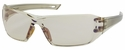 Bouton Captain Safety Glasses with Brown Temple and Indoor/Outdoor Anti-Fog Lens