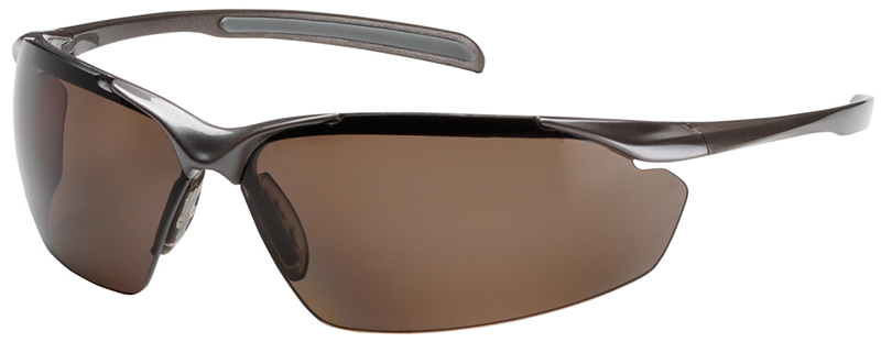 Bouton Commander Safety Glasses with Bronze Frame and ...